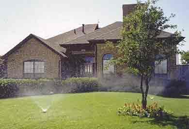 Lawn Sprinkler System in Grapevine Tx